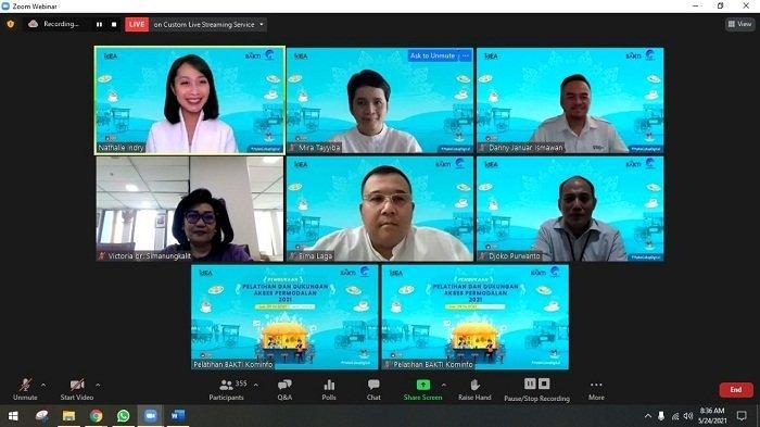 Kolaborasi BAKTI Kominfo dan idEA Bikin Literasi Digital Hibrid dan Bantuan Akses Permodalan UMKM