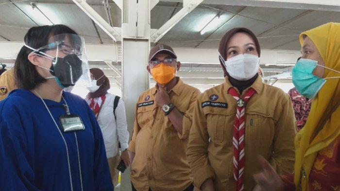 Sambut Baik Adanya Vaksin Drive Thru di RSUI, Istri Gubernur Jawa Barat Berpesan Ini ke Masyarakat