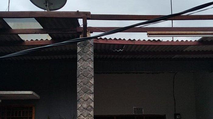 73 Rumah Warga di Setu Kabupaten Bekasi Rusak Disapu Angin Puting Beliung