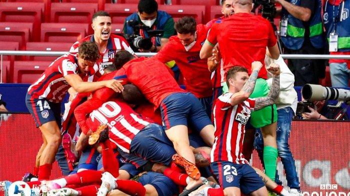 Perebutan Juara Liga Spanyol, Atletico Madrid Atau Real Madrid Sampai Akhir Kompetisi, Barca Tumbang