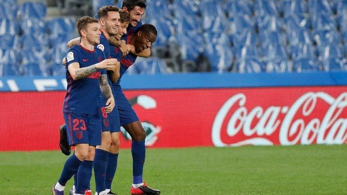 Kalahkan Tim Papan Atas Real Sociedad 2-0, Atletico Madrid Kokoh di Punca Klasemen Liga Spanyol
