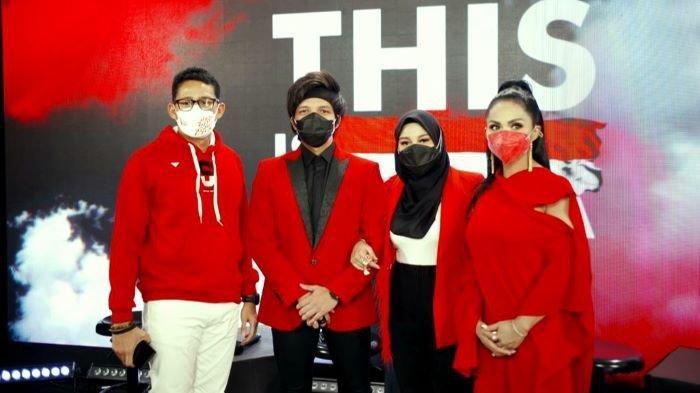 Aurel Hermansyah Ikut Nyanyikan 'This is Indonesia', Duet Pertamanya Bersama Krisdayanti