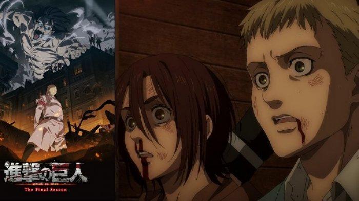 Jadwal Tayang Attack On Titan Season 4 Episode 11, Gabi dan Falco Kabur dari Penjara dan Tersesat