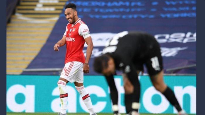 Aubameyang Hatrik Saat Arsenal vs Leeds 4-2, Gunners Merangkak di Klasemen,Target Tiket Liga Europa