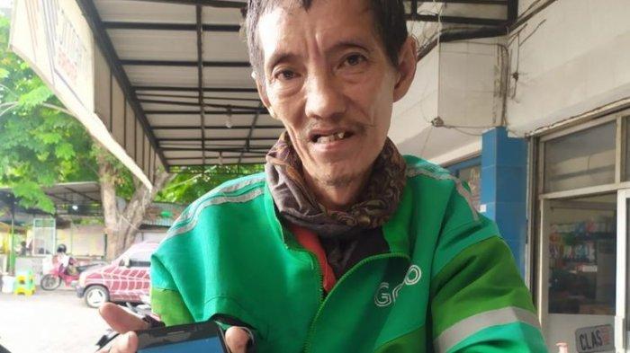 Kisah Ojol Berusia 59 Tahun, Hujan-hujanan Ternyata Kena Order Fiktif, Tabungan Rp500.000 pun Raib
