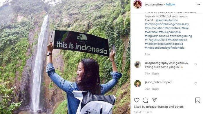 Mengintip 10 Foto Ayu Maulida Putri Indonesia 2020 Terpilih, Cantik dan Petualang Banget