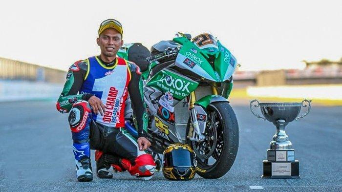 Azlan Shah Kamaruzaman, Mantan Pebalap Moto2 Malaysia Jadi Kurir Makanan Usaha Keluarganya