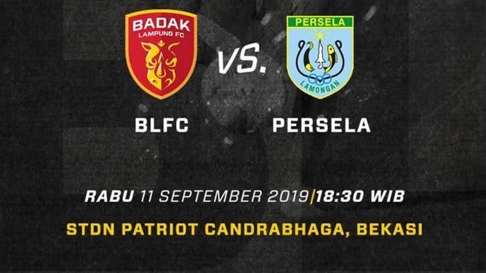 LIVE Streaming Perseru Badak Lampung vs Persela Lamongan: Debut Duet Golec-Malisic