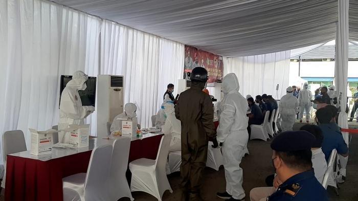 Antisipasi Penyebaran Covid-19, 350 Personel KPLP Jalani Swab Test Massal yang Digelar BIN