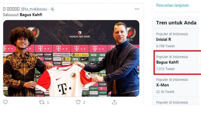 Bagus Kahfi Trending Topic, Resmi Gabung Klub Kasta Tertinggi Belanda, FC Utrecht, Tuai Pujian