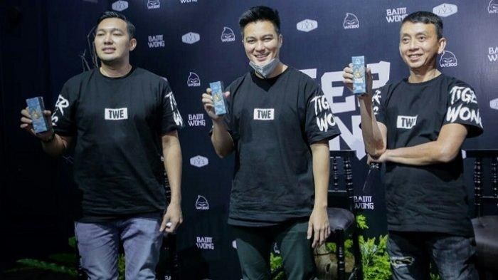 Baim Wong: Luncurkan Liquid Tiger Wong Rasa Es Krim dan Stroberi