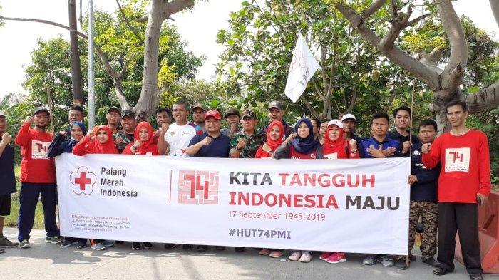 PMI Kecamatan Benda Galang Dana Bantuan Untuk Korban Bencana Asap