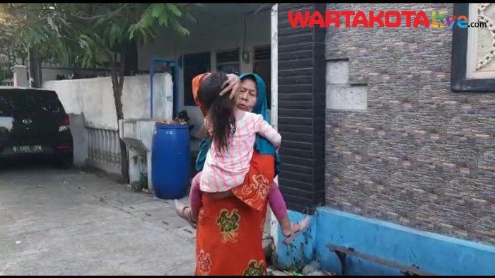 VIDEO: Terekam CCTV, Dua Balita di Tanjung Priok Jadi Korban Jambret
