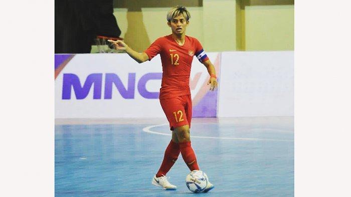 BBS biasa Bambang Bayu saptaji disapa rekannya, menjadi kapten Timnas Futsal Indonesia