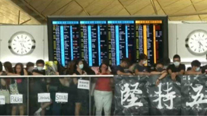 Ini Penyebab Kerusuhan Hongkong yang Ganggu Jadwal Penerbangan, Berimbas ke Indonesia