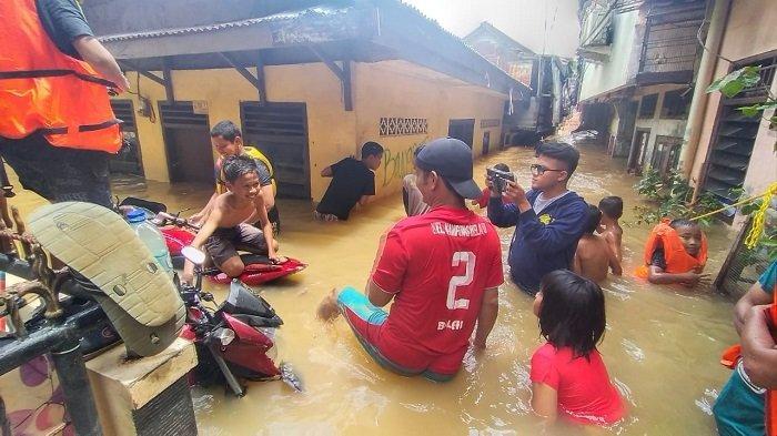 Banjir Trending Topic Twitter Minggu (23/2/2020), Jakarta Banjir di Sejumlah Wilayah ini