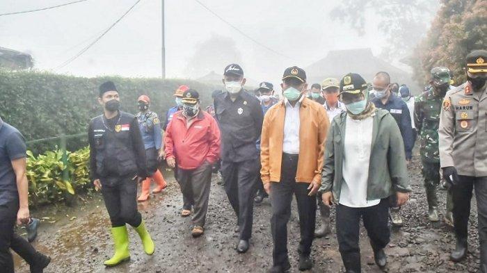 Banjir Bandang Gunung Mas, Muhadjir Minta Dirut PTPN VIII Tanam Tanaman Keras