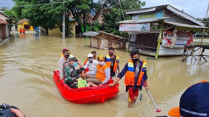 12 Kecamatan di Kabupaten Bekasi Terendam Banjir dan Satu Kecamatan Diterpa Angin Puting Beliung