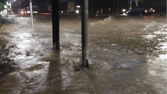 Ini Daerah yang Terdampak Banjir dengan Ketinggian 20-70 cm di Jakarta, Bekasi dan Tangerang