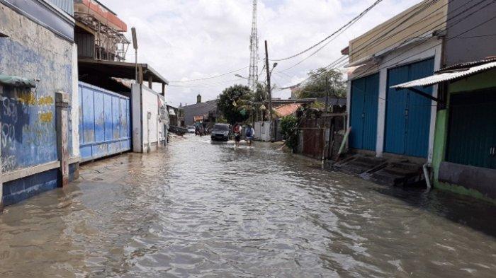 Data BPBD, Ini 8 Titik Banjir dan Ketinggian Air yang Tersebar di 4 Kecamatan Kota Bekasi
