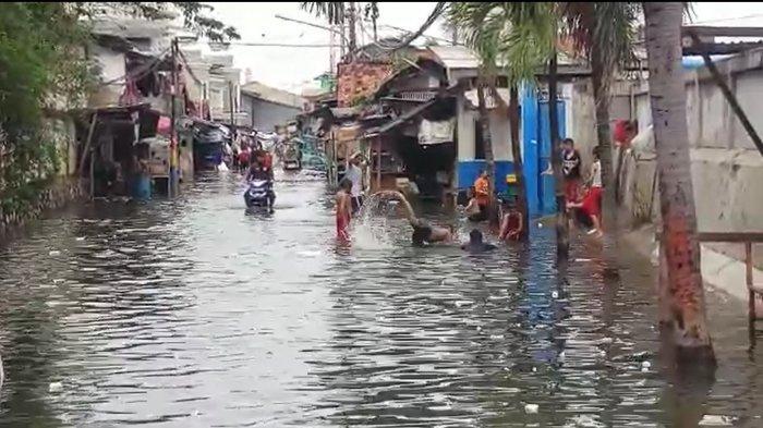 VIDEO: Kelurahan Rawa Buaya Cengkareng Jakarta Barat Kembali Terendam Banjir