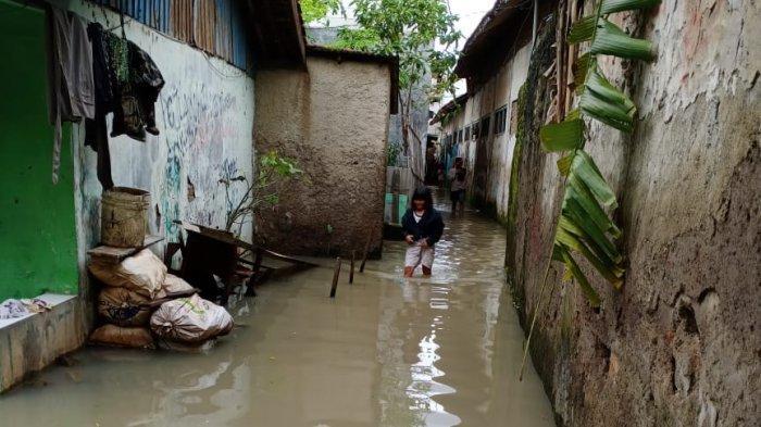 Setelah Terendam Hampiur Sehari, Sejumlah Titik Banjir di Tangerang Sudah Surut