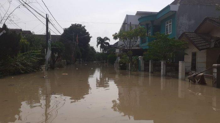 9 Desa di Kabupaten Bekasi Kebanjiran, Termasuk Perumahan Villa Jatirasa dengan Kedalaman 3 Meter