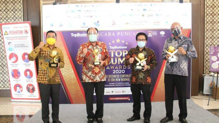 Di Tengah Pandemi, Empat BUMD DKI Raih Penghargaan di Ajang Top BUMD Awards 2020.