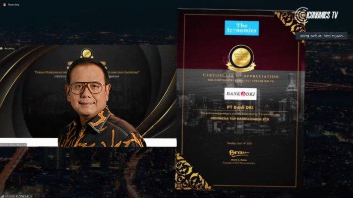 Bank DKI Raih Penghargaan Indonesia Top Bank Awards 2021