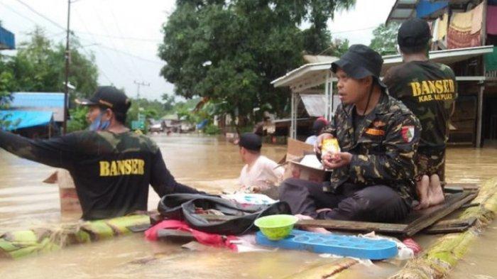 Sering Diledek Suka Dangdutan, Banser Buktikan Hadir ke Lokasi Bencana untuk Membantu Warga