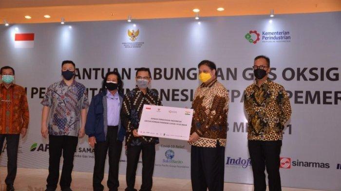 Pemerintah Indonesia Kirim Lagi Bantuan Tabung Oksigen Kepada India
