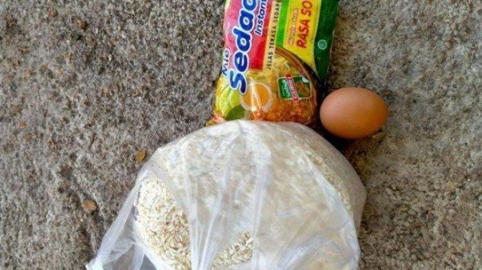 Korban Bencana di NTT Kesal, Dapat Bantuan Hanya Sebutir Telur, Sebungkus Mi Instan dan Sekilo Beras
