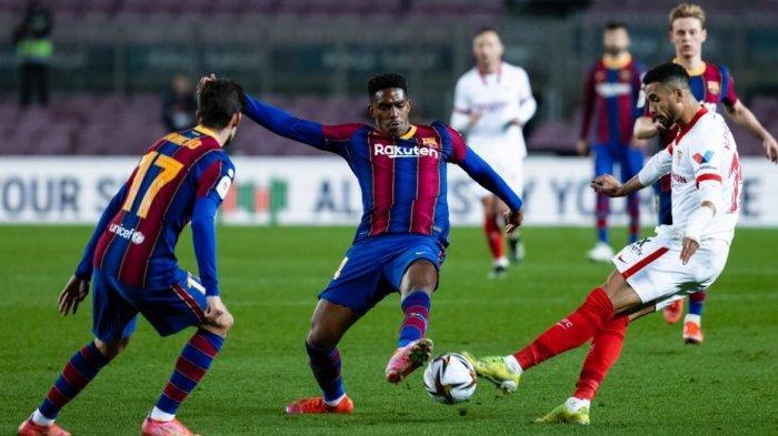 Dramatis, Barcelona Lolos ke Final Copa Del Rey Usai Kalahkan Sevilla 3-0 Via Perpanjangan Waktu