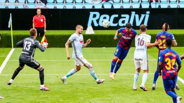 Hasil Liga Spanyol Barcelona Ditahan Imbang Celta Vigo 2-2, Perebutan Posisi Puncak Masih Sengit