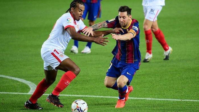 Sedang Berlangsung Live Streaming Sevilla vs Barcelona, Barca Dominan, Messi Nyaris Bikin Gol