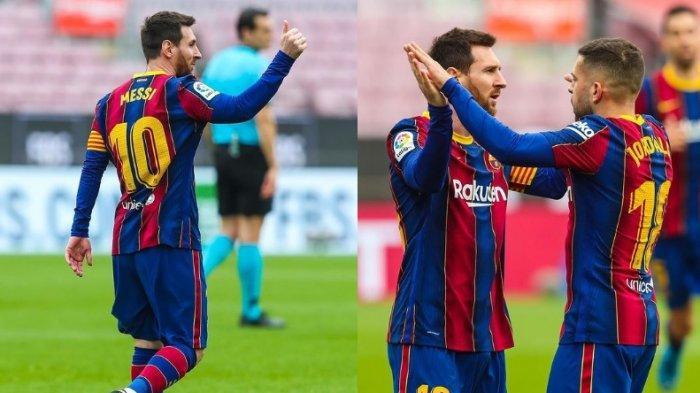 Link Live Streaming Barcelona vs Real Valladolid: Barca Sedang Cari Solusi Masa Depan Lionel Messi