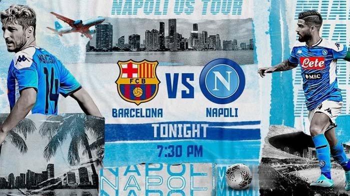 SEDANG BERLANGSUNG: Barcelona vs Napoli. Philippe Coutinho Tidak Masuk Tim