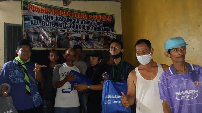 Bareskrim Polri dan Leppami PB HMI Salurkan Bantuan Sembako untuk Korban Banjir di Cilegon