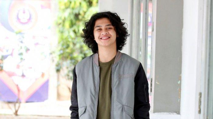 Bastian Steel disela syuting serial televisi berjudul Pengantin Dini di Studio Persari bawah, Jagakarsa, Jakarta Selatan, Kamis (3/10/2019).