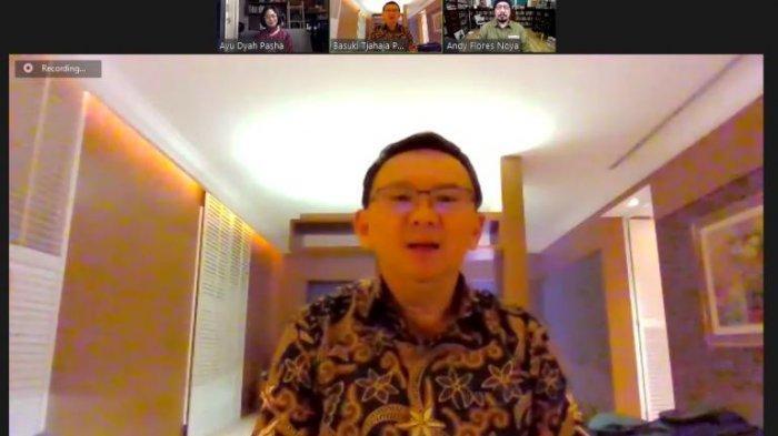 Bantu Masyarakat Terdampak Covid-19, Basuki Tjahaja Purnama Lelang Baju Batik Bersejarah