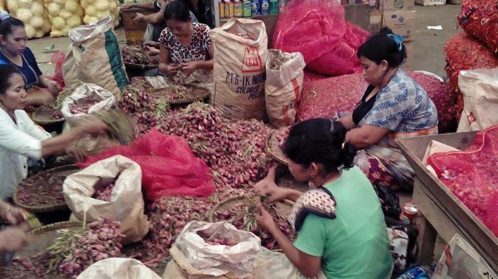 Produksi Bahan Pangan di Beberapa Daerah Mengalami Penurunan
