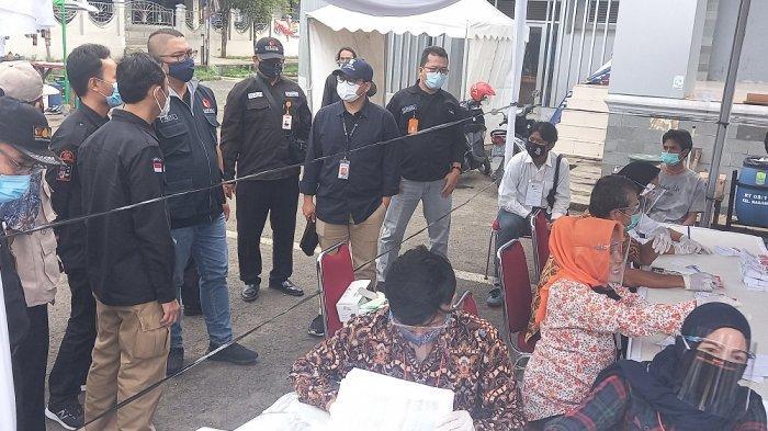 Tegaskan Penerapan Protokol Kesehatan, Bawaslu RI Sidak TPS di Kabupaten Karawang