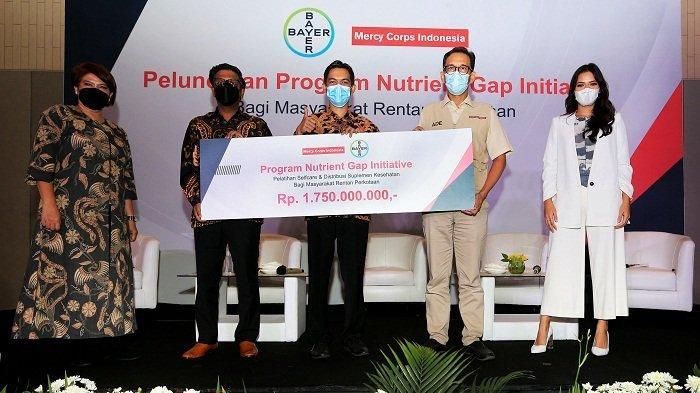 Perluas Akses Vitamin dan Mineral Masyarakat Rentan, Bayer Indonesia Rilis Nutrient Gap Initiative