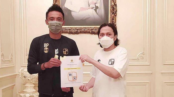 Bayu Pradana Diperpanjang Kontraknya Hingga 2023 Oleh Manajemen PS Barito Putera