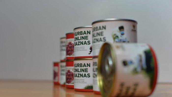 Baznas Siapkan Daging Kurban Kemasan Kaleng Pada Hari Raya Idul Adha