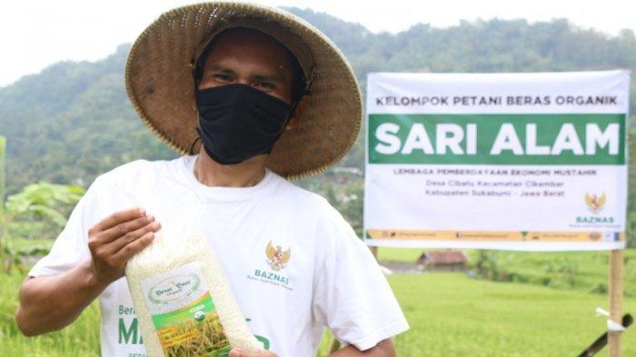 Petani Baznas Raih Sertifikat Organik Pengelolaan Lahan Pertanian