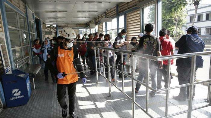 Mulai Kamis, 19 Maret 2020 Transjakarta hanya Melayani Pembayaran Non Tunai, ini Alasannya
