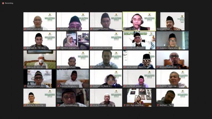 Baznas Se-Indonesia Sepakati Delapan Resolusi Penanggulangan Covid-19