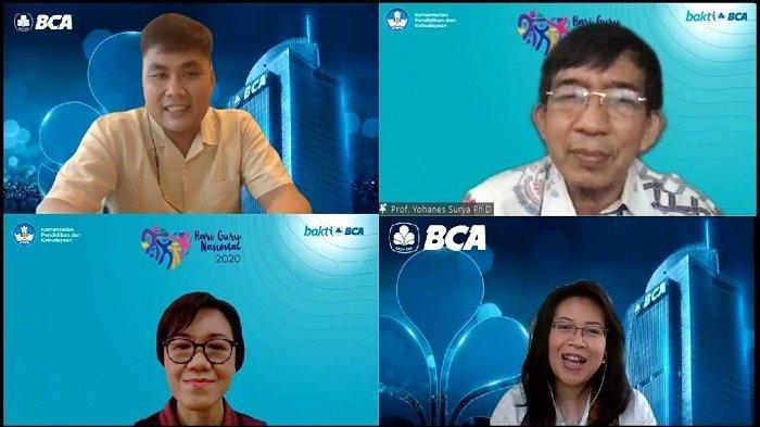 Kembangkan Tenaga Pendidik Indonesia Timur, BCA Gelar Rangkaian Webinar Edukatif dan Lomba Menulis