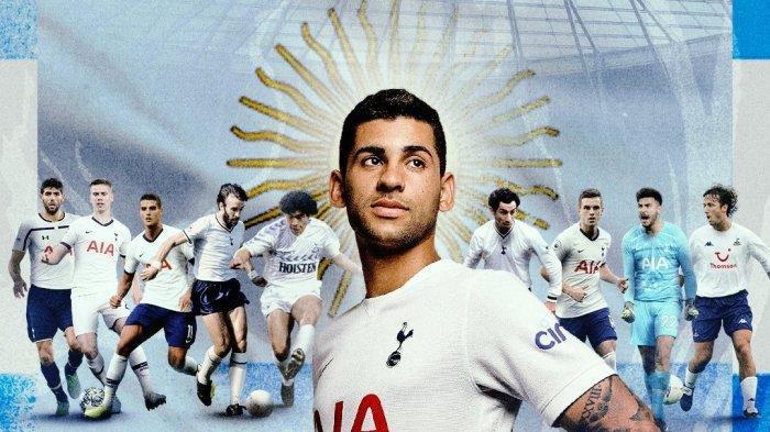 Bek internasional Argentina Cristian Romero hijrah ke Tottenham